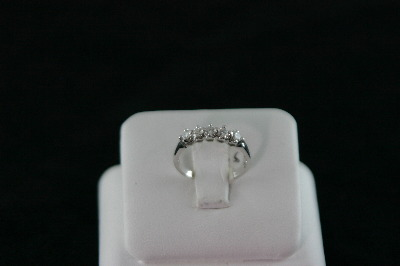 14KT White Gold Diamond 0.60ct Band