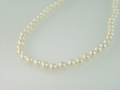 "16"" 6mm Cultured Pearl Necklace"