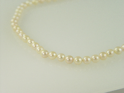 "23"" 7.5 - 8mm Culutered Pearl Necklace"