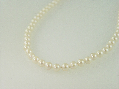 "34"" 7mm Cultured Pearl Necklace"