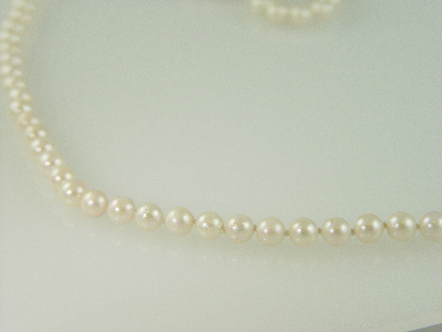 "18"" 6.5mm Cultured Pearl Necklace"