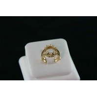 14KT Y/G Round Diamond 0.65ct Guard