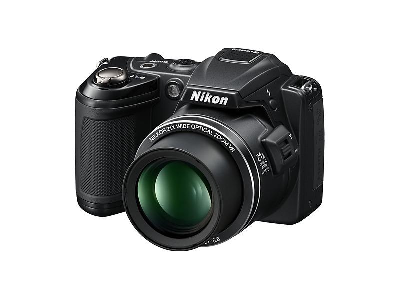 Nikon Coolpix L120 14.1-Megapixel Digital Camera - Black