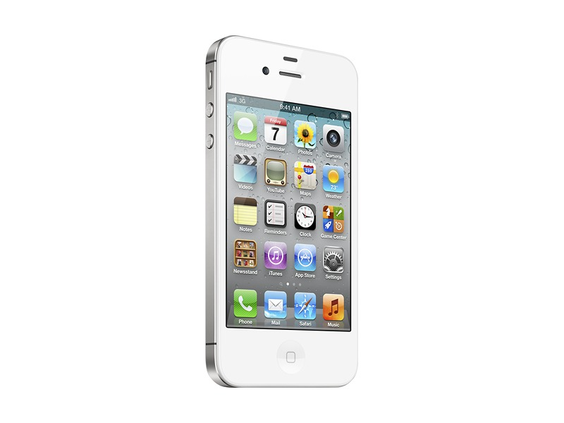 Apple® iPhone 4 with 8GB Memory - White