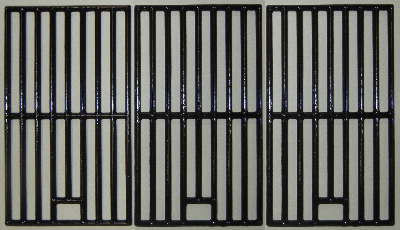 gloss finish cast iron cooking grid