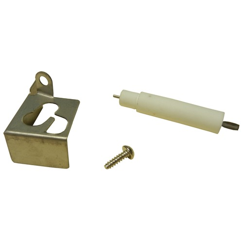 ignitor mounting bracket with electrode for Charbroil