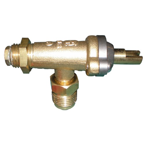 Single Brass Gas Grill Valve for Coastal and Wilmington