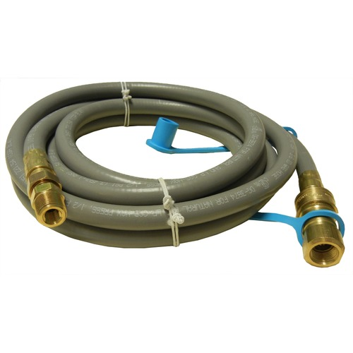 12' natural gas hose with quick disconnect
