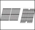 Rectangular Cooking Grids