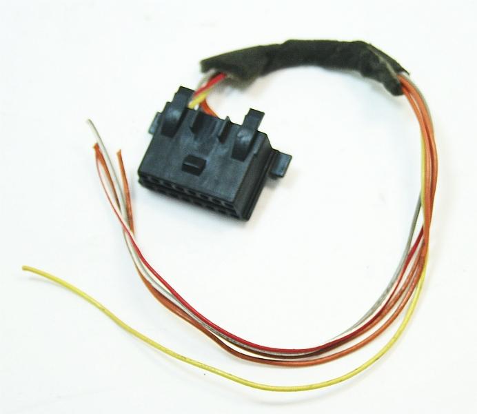 obd wiring diagram obd diagnostic plug port pigtail wiring 93-99 vw cabrio ... vw obd wiring #14