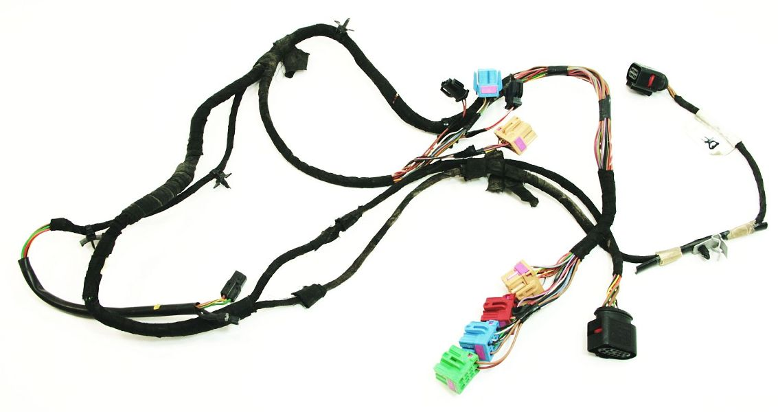 cp004507 driver front door wiring harness 00 06 audi tt mk1 lh genuine oe eurovan wiring harness driver door diagram wiring diagrams for vw eurovan door wiring harness at edmiracle.co