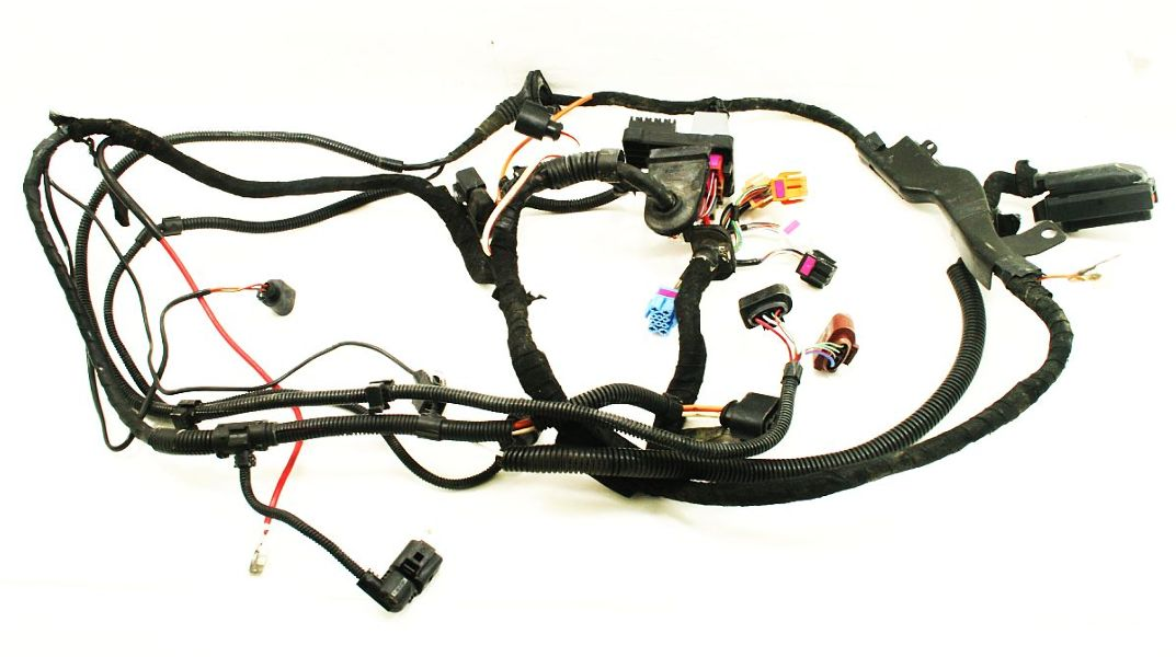 automotive engine wiring harness jetta golf 99.5-05 mk4 | carparts4sale, inc. automotive headlight wiring harness #7