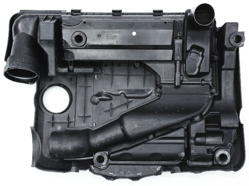 engine cover air intake filter box    vw jetta rabbit mk     ebay