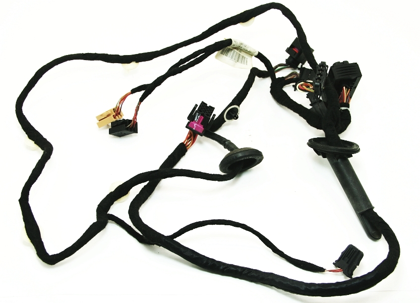 Front door wiring harness passenger 99 5 05 vw jetta golf for 06 jetta driver door harness
