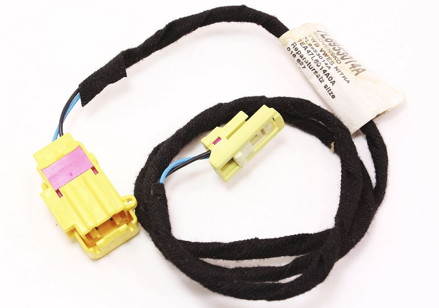 cp006766 front seat side airbag connector harness 04 09 vw touareg repair kit oe new new front seat side airbag connector harness 04 09 vw touareg Wire Harness Maintance at n-0.co