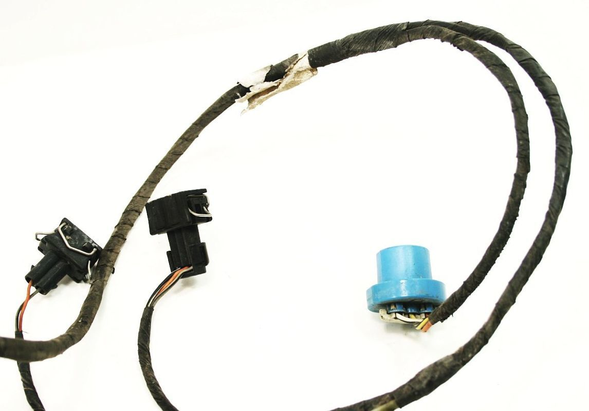 Headlight wiring harness non fog vw jetta golf