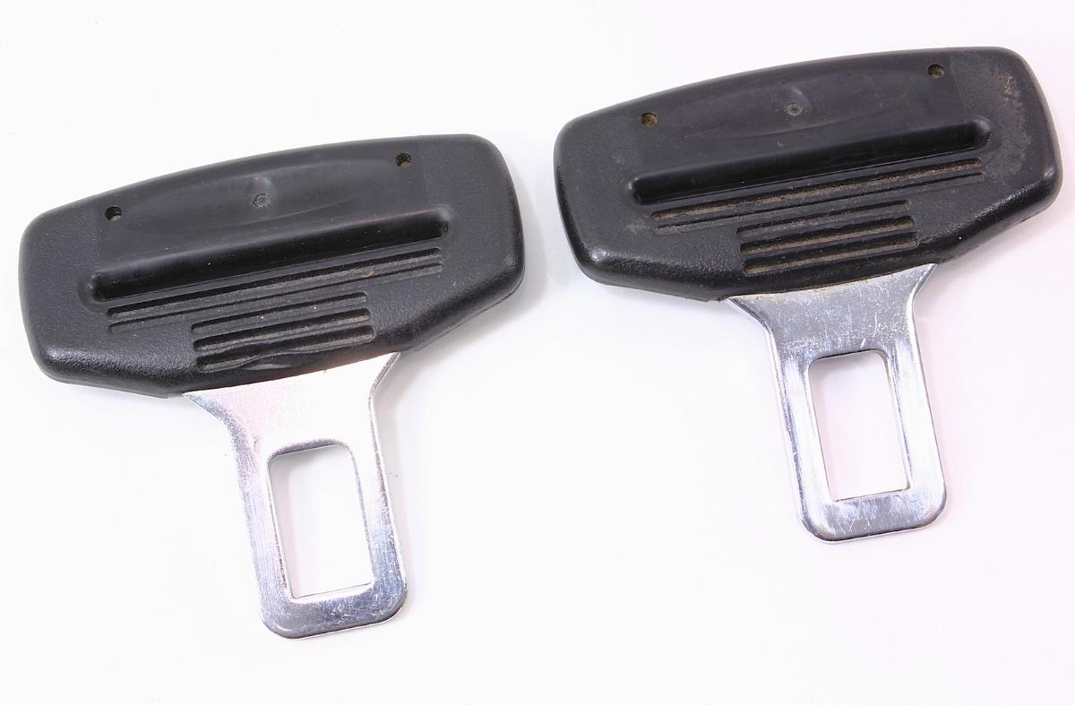 set of 2 male seat belt seatbelt buckle clip vw jetta golf gti touareg audi a4 ebay