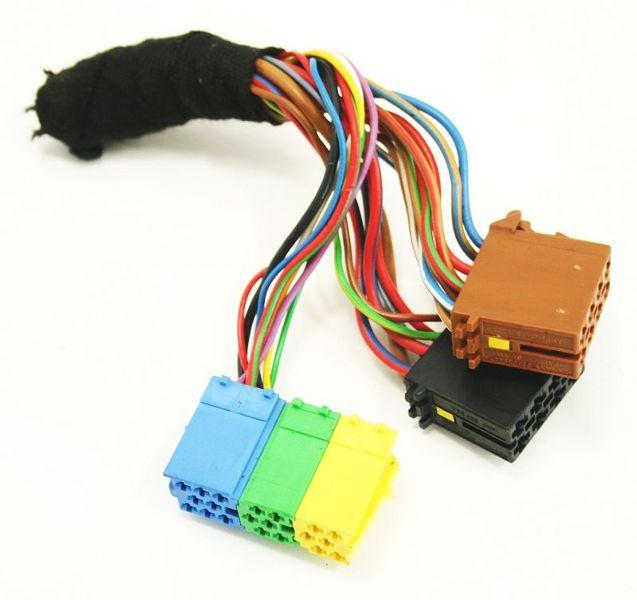 Radio wiring harness plug pigtail vw jetta golf gti