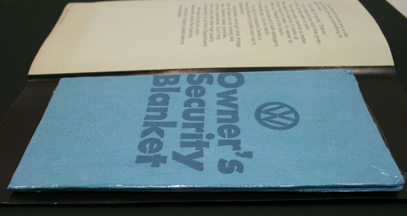 Rare Vintage Quot Wash Me Quot Vw Beetle Dealership Brochure Pamphlet Security Blanket Carparts4sale Inc
