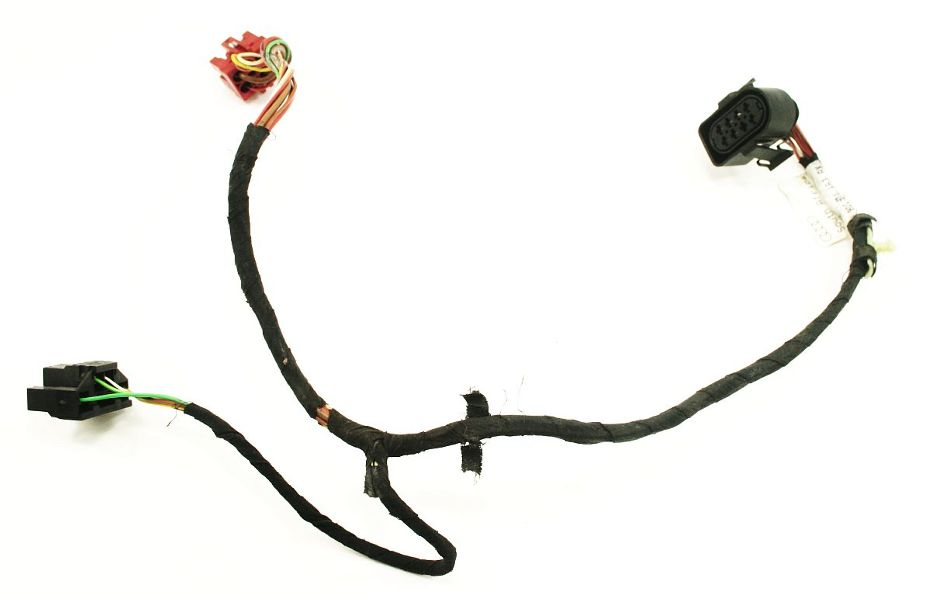 rear door wiring harness 96-01 audi a4 s4 b5