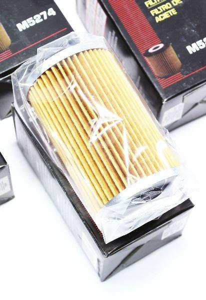 4 pack oil filters m5274 gm cadillac cts sts srx pontiac. Black Bedroom Furniture Sets. Home Design Ideas