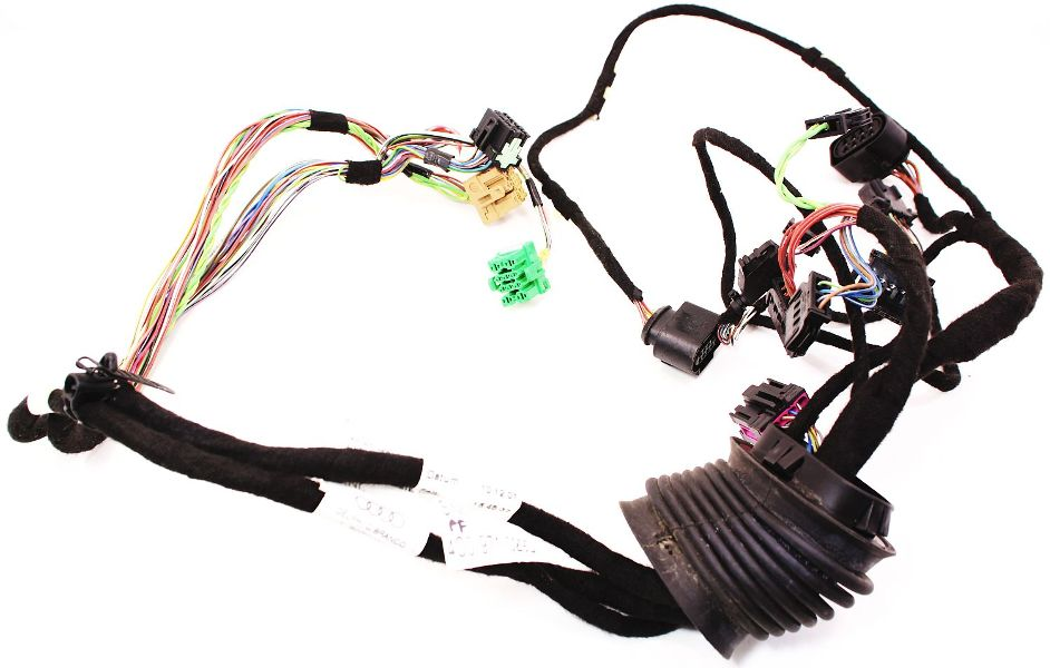 cp016214 rh front door wiring harness 02 04 audi a6 s6 rs6 c5 allroad genuine oe rh front door wiring harness 02 04 audi a6 s6 rs6 c5 allroad 4c0 2003 Audi at bakdesigns.co