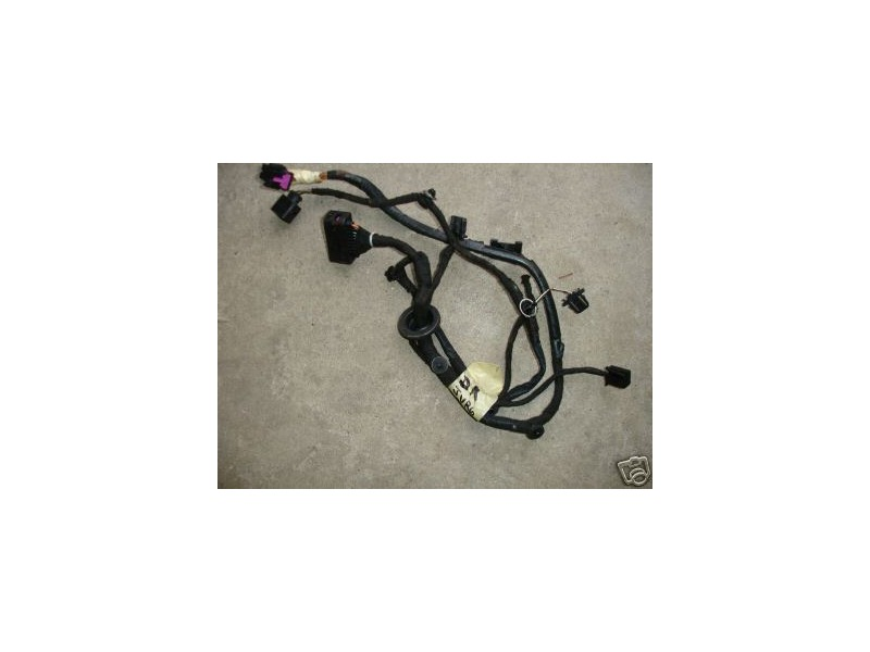 Lh rear door wiring harness 99 05 vw jetta golf mk4 left for 06 jetta driver door harness