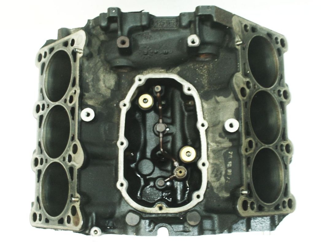 engine block 2 8 30v v6 aha atq 99 01 audi a4 a6 vw passat. Black Bedroom Furniture Sets. Home Design Ideas
