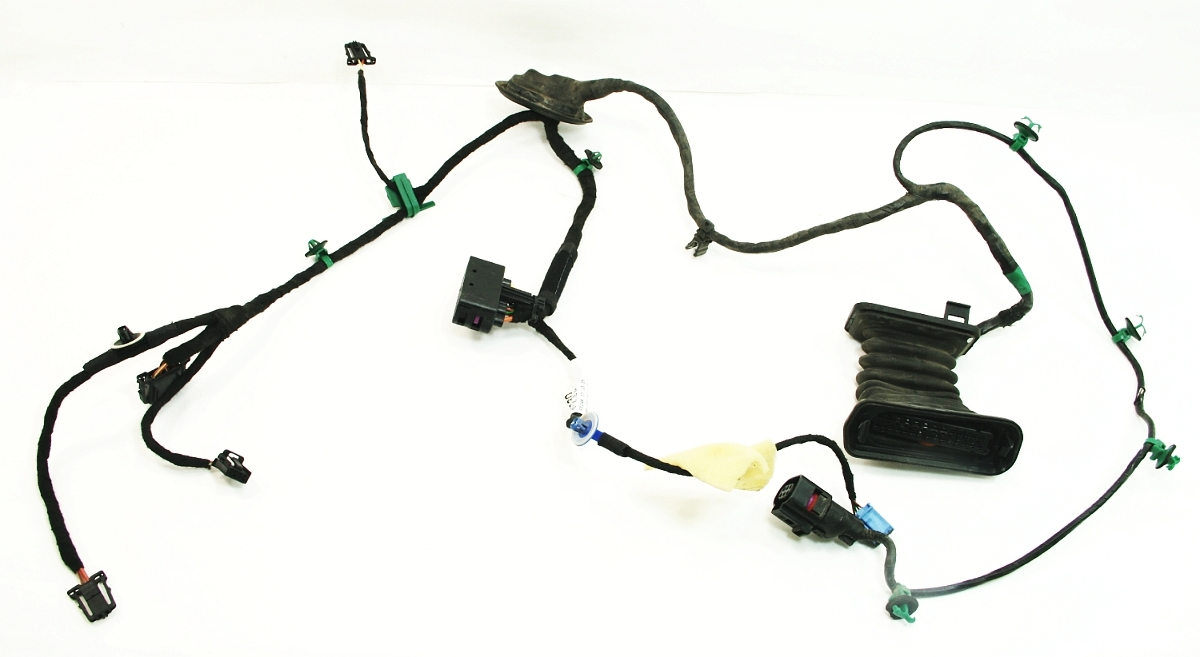 lh rear door wiring harness 05 09 vw jetta rabbit gti mk5 1k5 971 693 d ebay