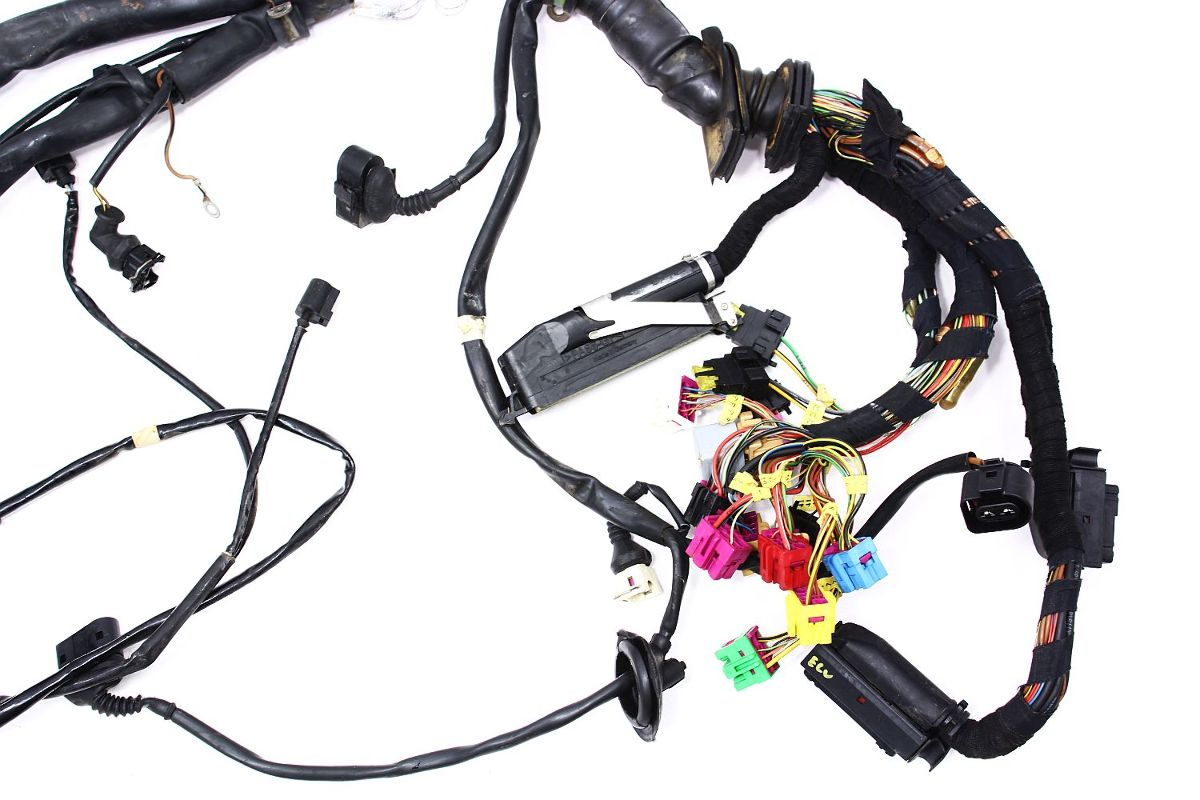 engine & ecu wiring harness audi a8 d2 - 4.2 v8 aux - 4d1 ... 2003 audi ecu wiring harness