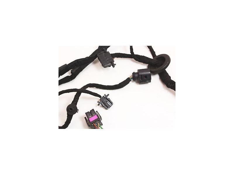 Rear door wiring harness manual 99 05 vw jetta golf mk4 for 06 jetta driver door harness