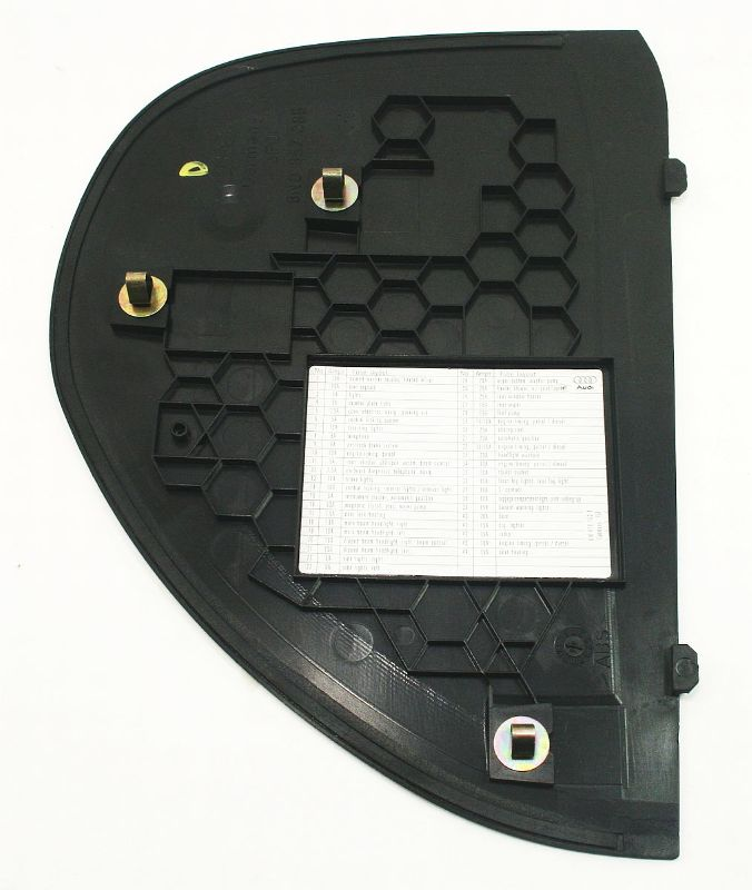 lh dash end cap fuse panel cover trim 00 06 audi tt mk1. Black Bedroom Furniture Sets. Home Design Ideas