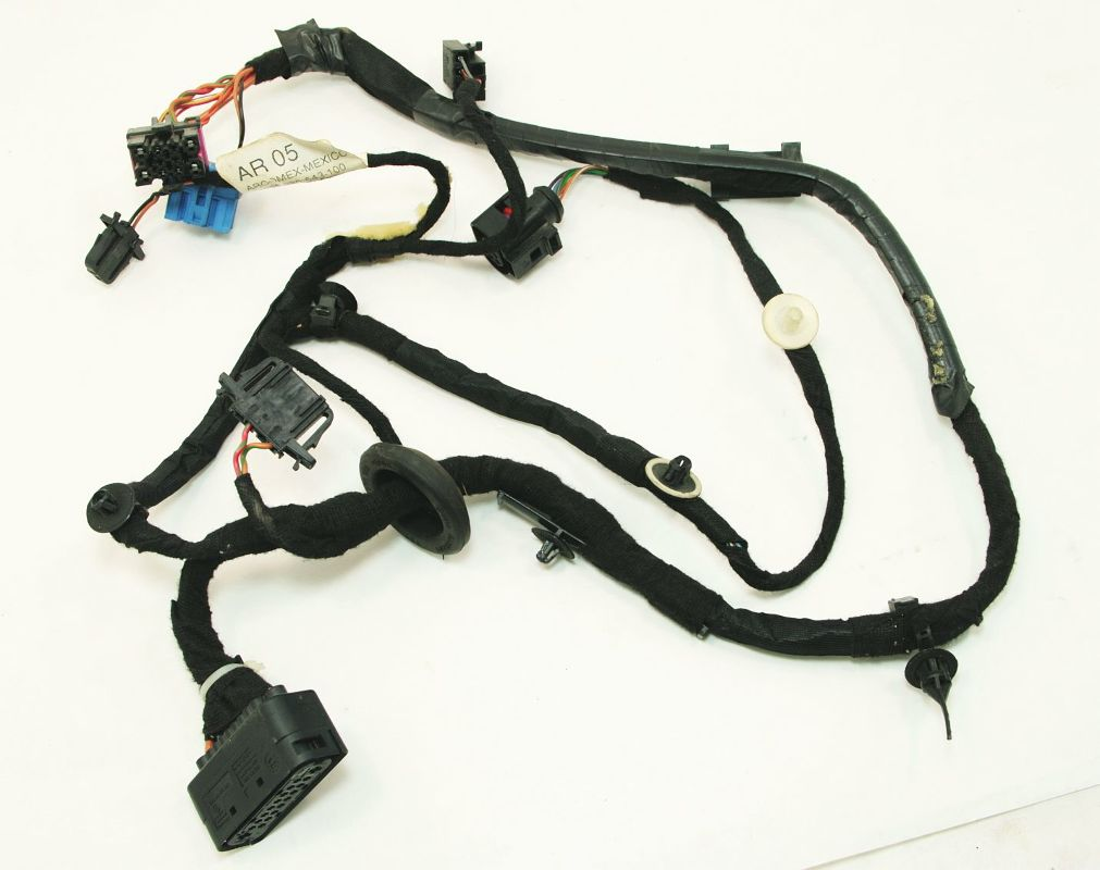 Vw jetta door wiring harness diagram