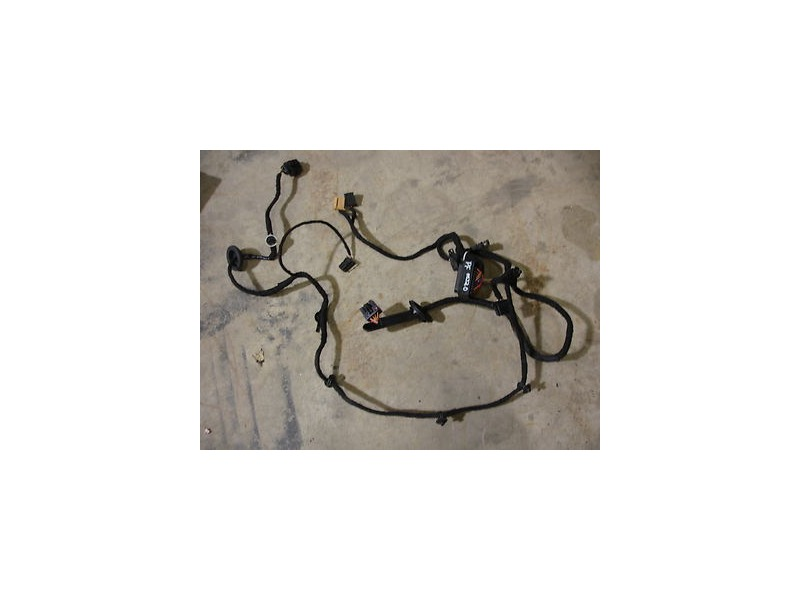 Rh front door wiring harness 99 05 vw jetta golf mk4 right for 06 jetta driver door harness