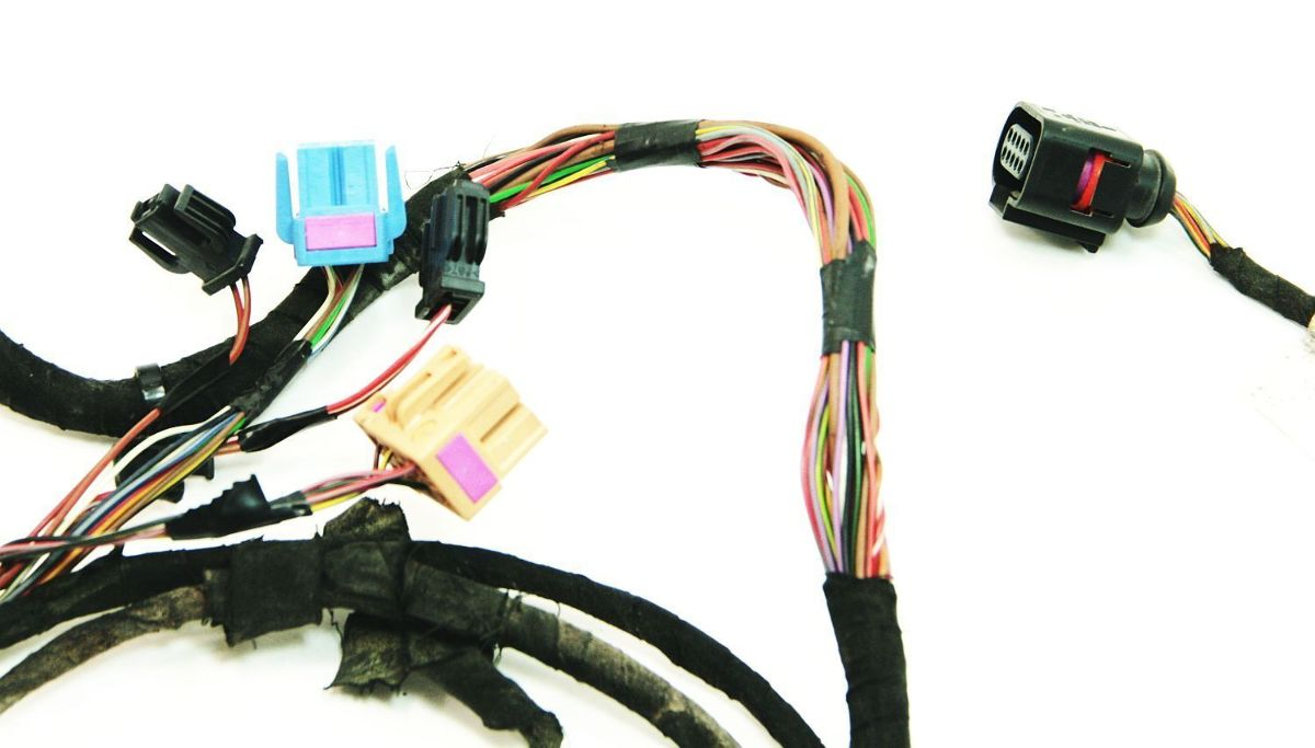 lh door wiring harness 00 06 audi tt mk1 genuine ebay. Black Bedroom Furniture Sets. Home Design Ideas