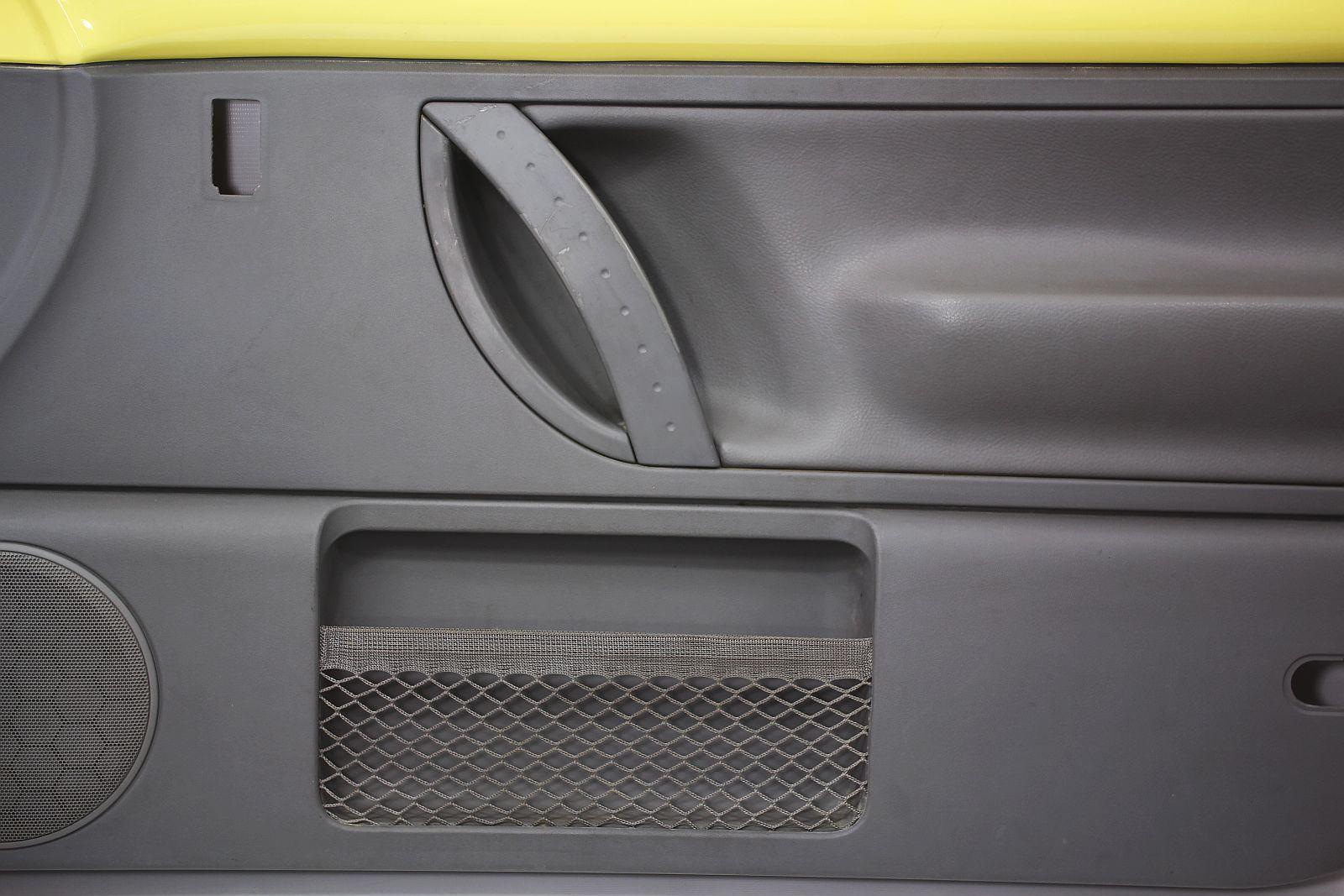 RH Front Door Panel 98 05 VW Beetle Interior Trim Yellow Gray Leather OE