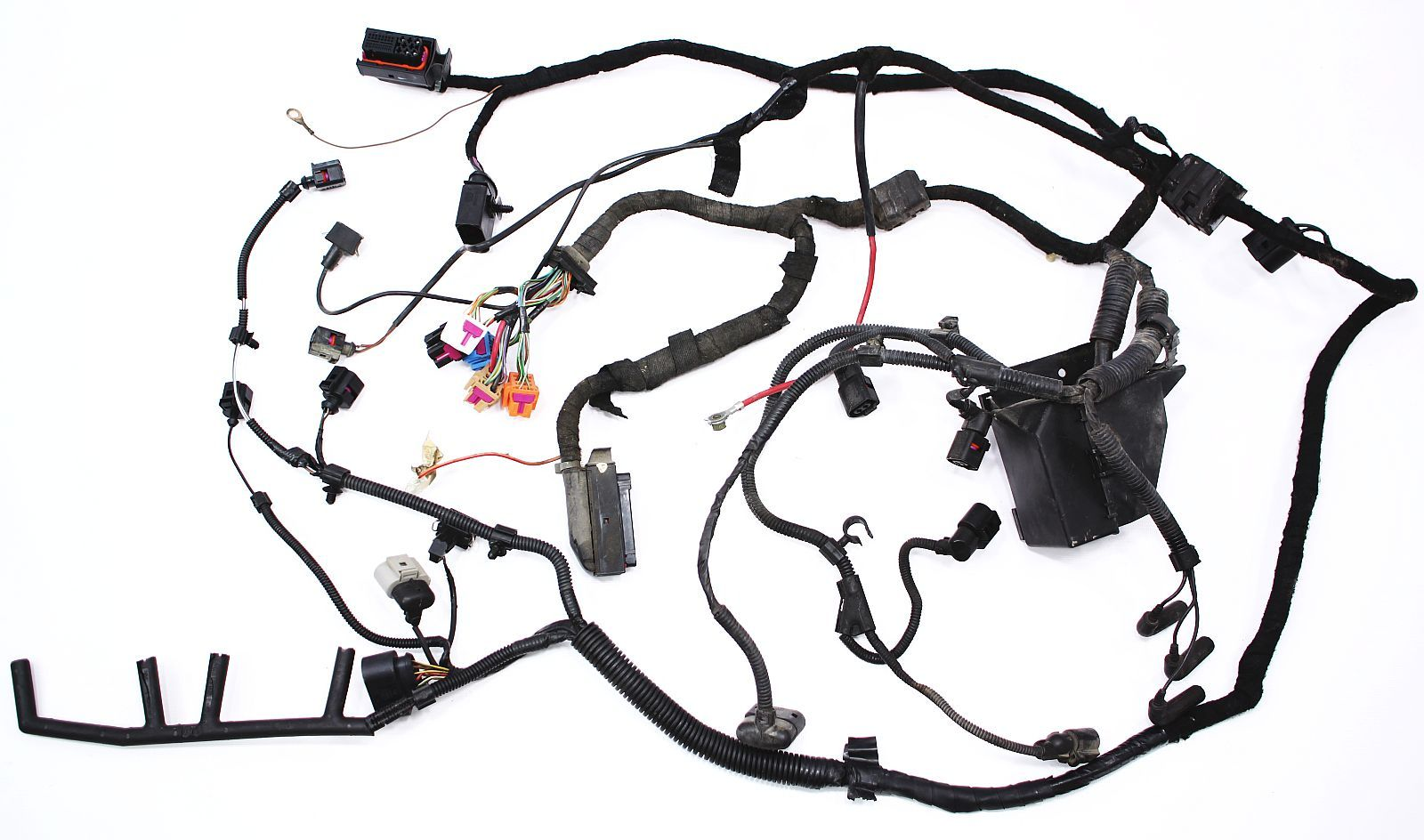 Vw Beetle Engine Wiring Harness : Engine bay ecu wiring harness vw beetle tdi