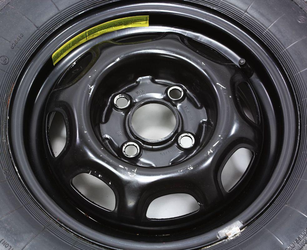 "13"" x 5"" Spare Wheel Rim Tire VW Jetta Rabbit MK1 Genuine OE 321 601 025 K"