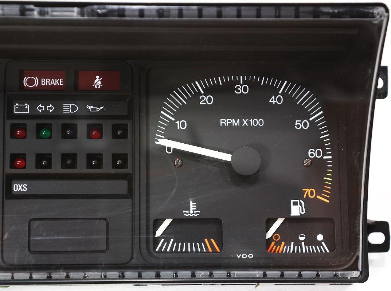 gauge instrument cluster vw rabbit gti mk speedometer  tach  mph ebay