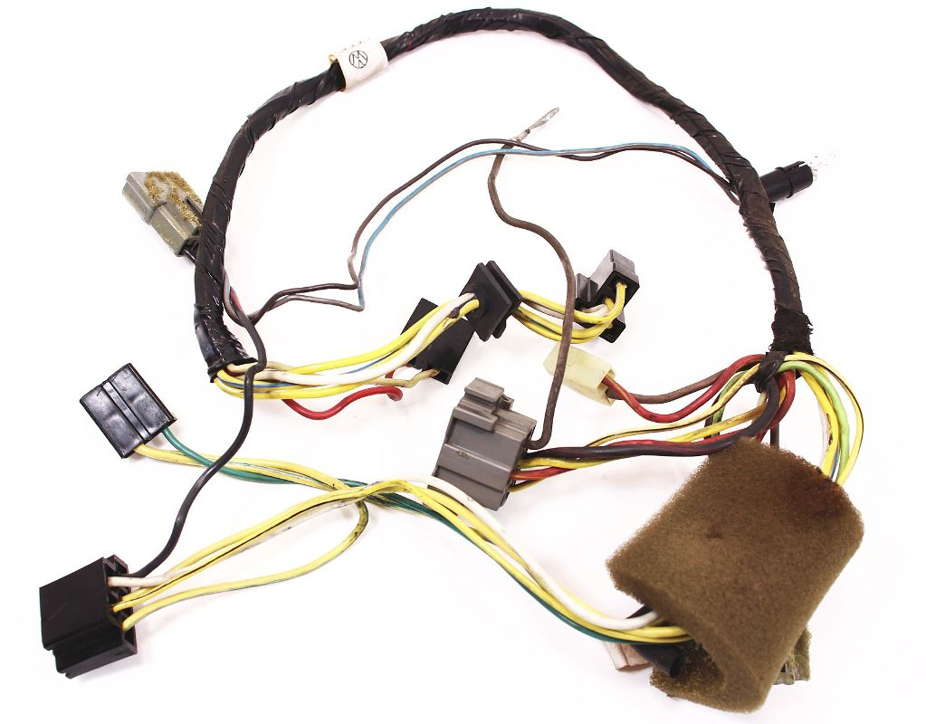 ac heater box harness vw rabbit gti mk1 hvac wiring genuine oe volkswagen ebay