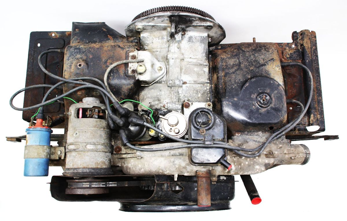 1600cc Engine Motor Long Block - 68-73 VW Type 3 ...