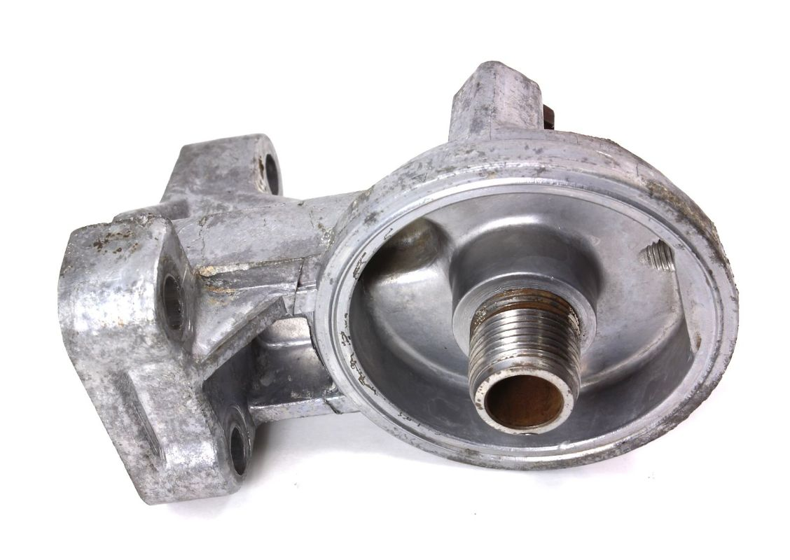 oil filter housing with  oil  free engine image for user