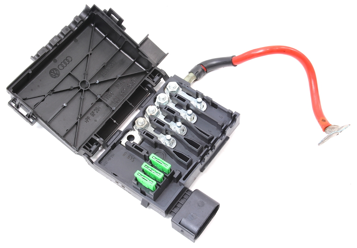 cp027572 battery fuse box vw new beetle distribution block genuine oe 1c0 937 549 b 2 battery distribution fuse box vw jetta golf gti beetle mk4 1c0 distribution fuse board at eliteediting.co