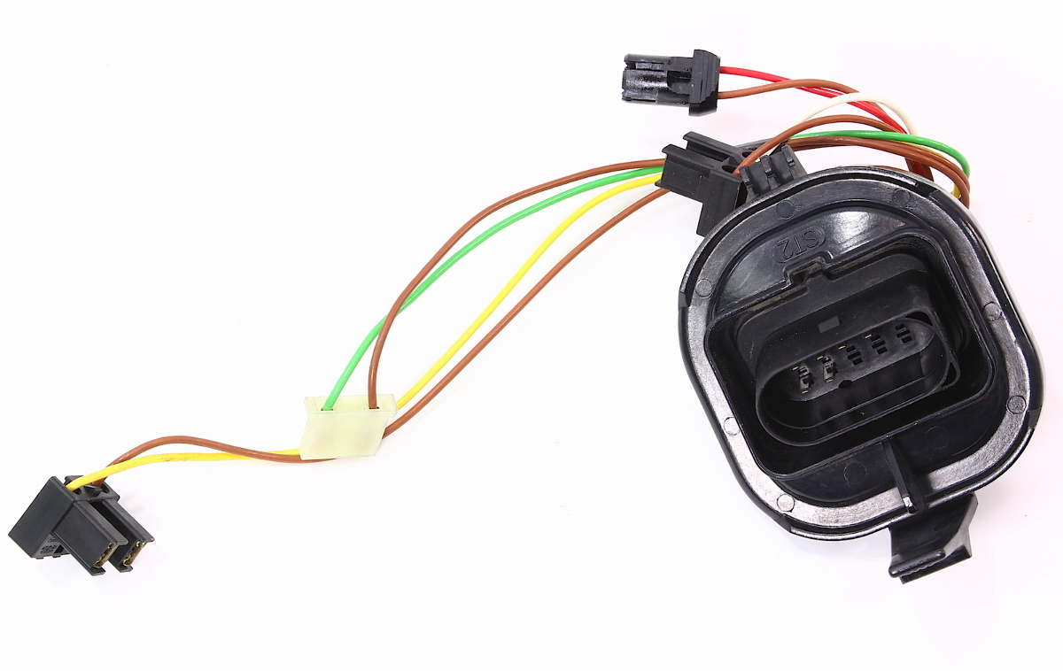 Internal Headlight Bulb Wiring Harness 99 5 05 VW Golf MK4 ... on porsche 911 headlight wiring, jeep wrangler headlight wiring, bmw z3 headlight wiring, hyundai santa fe headlight wiring, ford focus headlight wiring, toyota headlight wiring, jeep cherokee headlight wiring, volvo xc70 headlight wiring, mazda 6 headlight wiring, hyundai accent headlight wiring, honda crv headlight wiring, bmw e46 headlight wiring, honda civic headlight wiring, subaru forester headlight wiring,