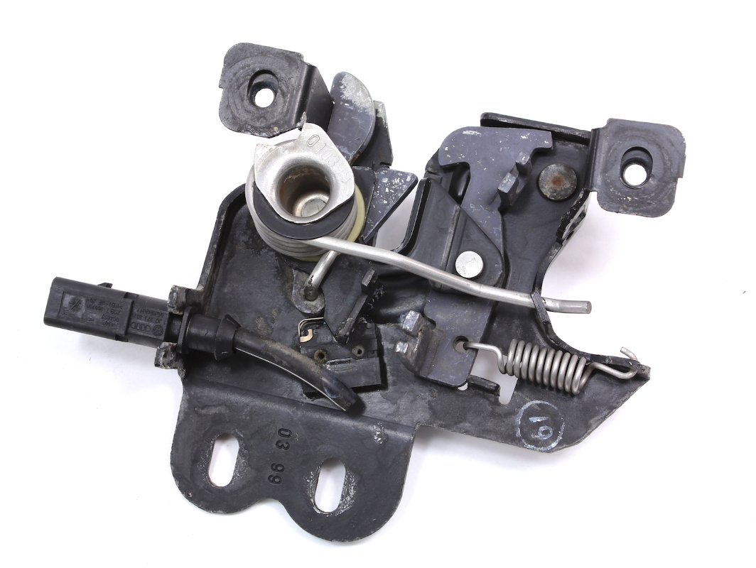 Lower Hood Latch Lock Receiver 00-04 Audi A6 V8 S6 - 4B3 823 509