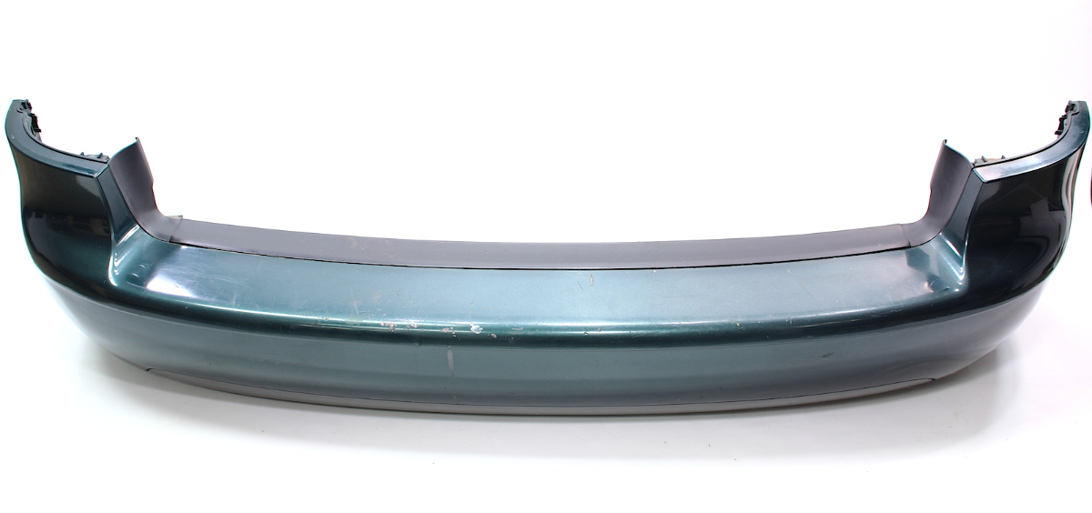 Rear Bumper Cover 98-01 Audi A6 Wagon Avant - LZ6H Racing Green - Genuine
