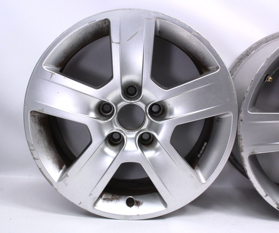 "Set Of Stock 16"" Audi A4 B6 Wheels Rims 02-05 Fundo 7x16"