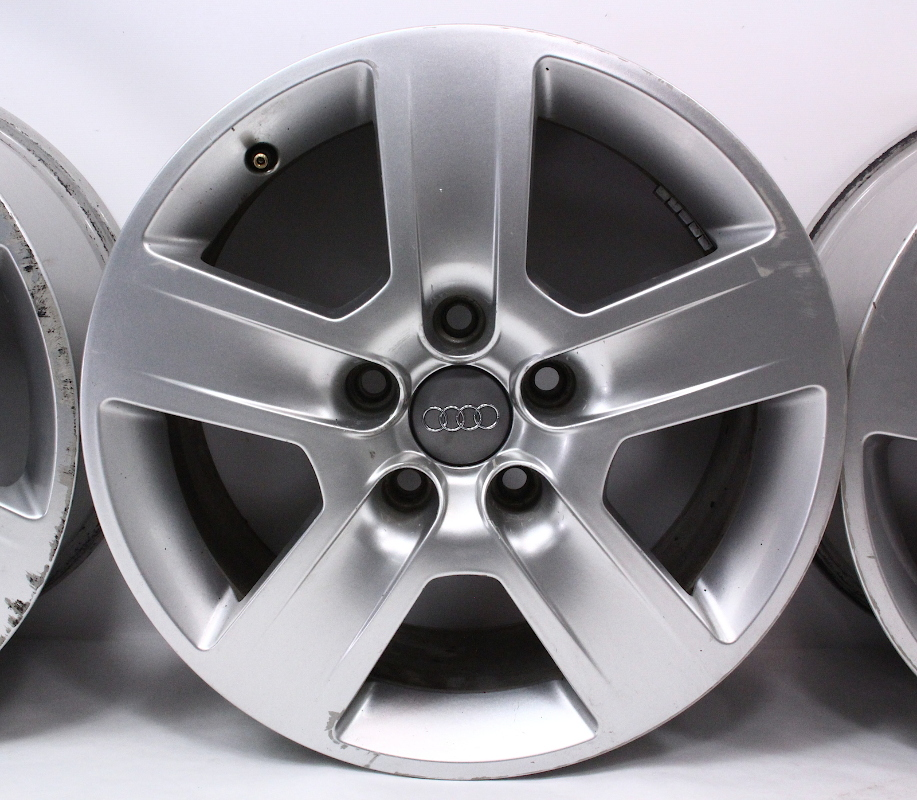 "Set Of Stock 16"" Audi A4 B6 Wheels Rims 02-05 Fundo 7x16"