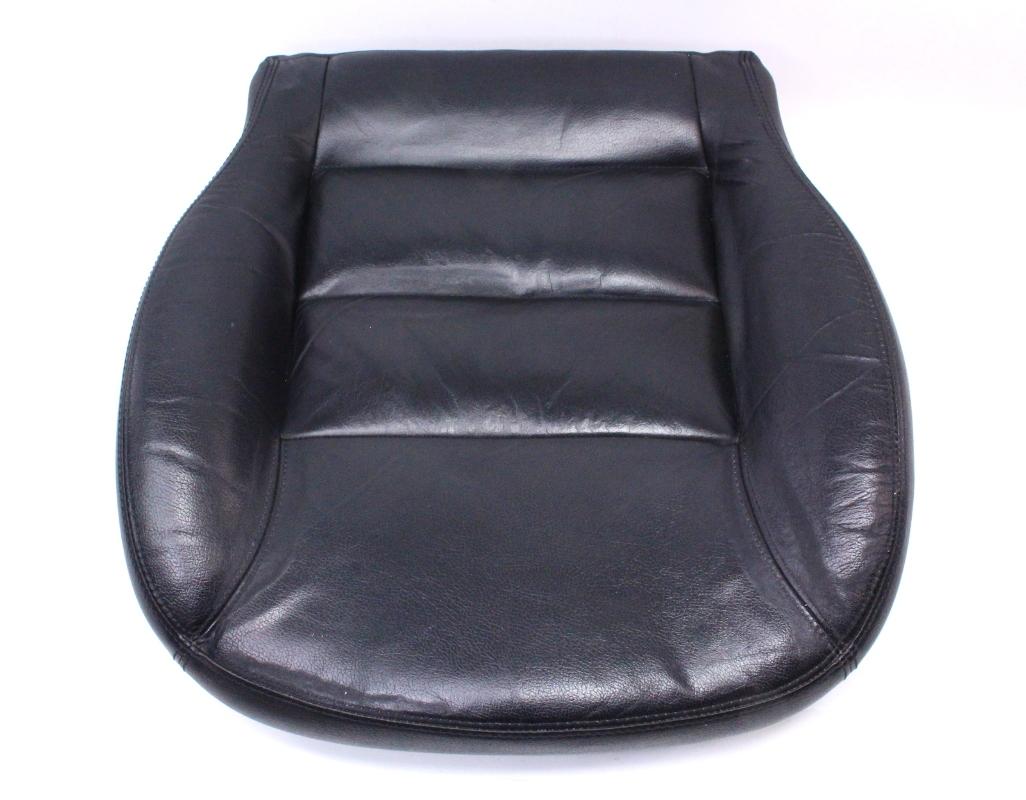 Black Heated Leather Seat Cushion Passat 98 05 Genuine OE