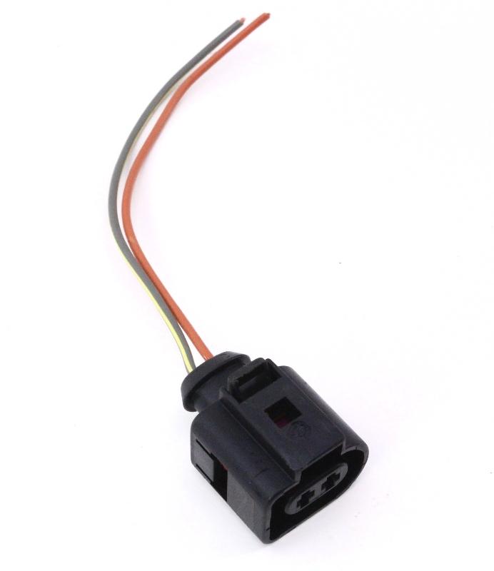 fog light wire harness pigtail vw beetle 98 05 foglight l connector ebay